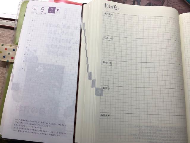 HOBO五年手帳與一般版比較